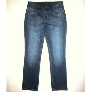 🆕 Jag Jeans 12 31 High Rise Straight Leg Pull On
